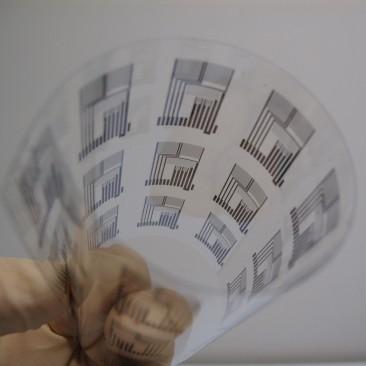 Poloprovoz procesu výroby fólie pro automatickou identifikaci
