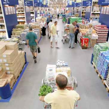 The use of RFID in the retail chain MAKRO