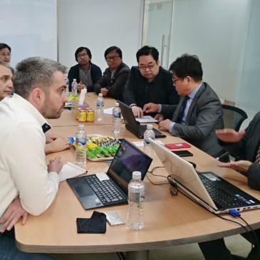 Jednání k VaV projektům na Dongguk University