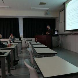 Vyzvané přednášky na Kyushu University v Japonsku