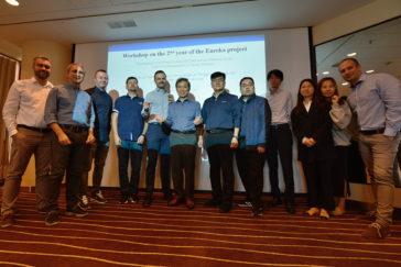Schůzky řešitelských týmů k mezinárodním projektům ve VaV