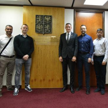 Jednání na Generálním konzulátu České republiky v Hongkongu
