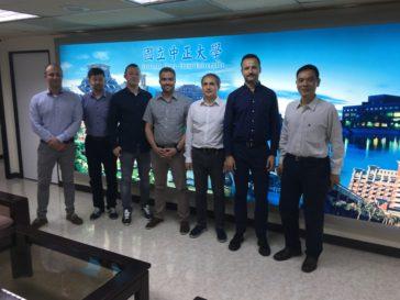 Návštěva na National Chung Cheng University